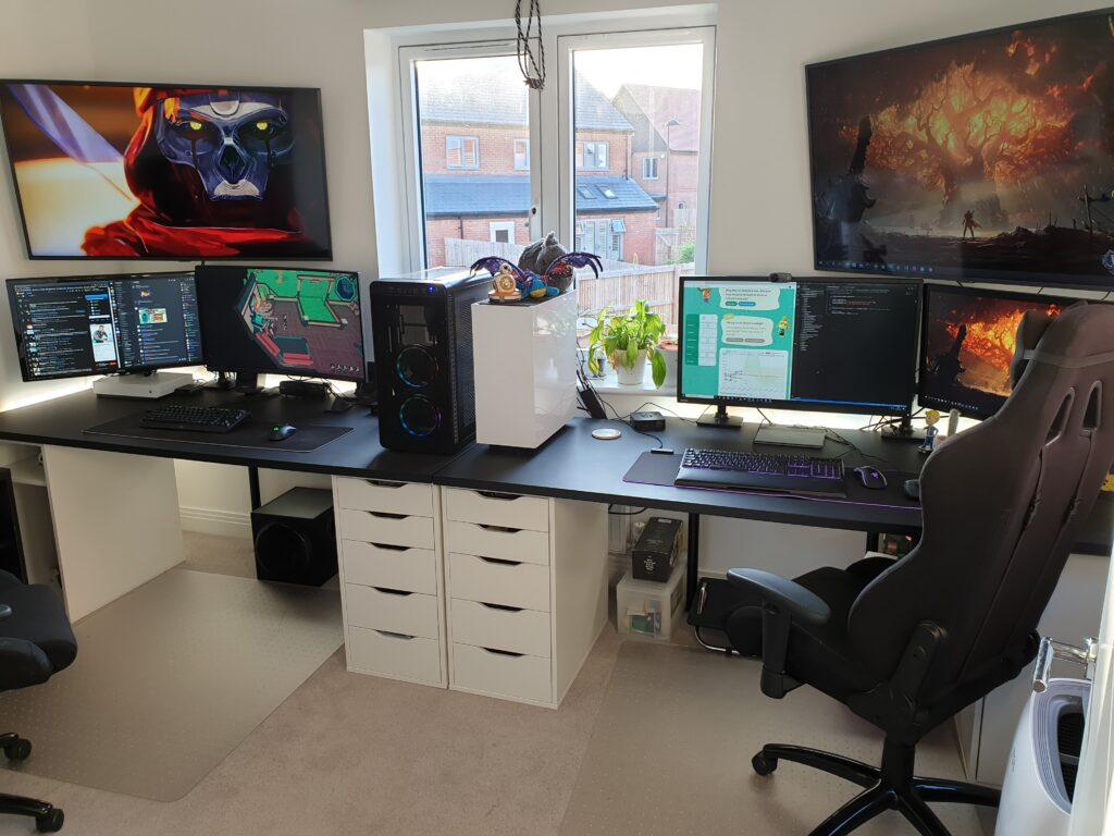 gaming room for two