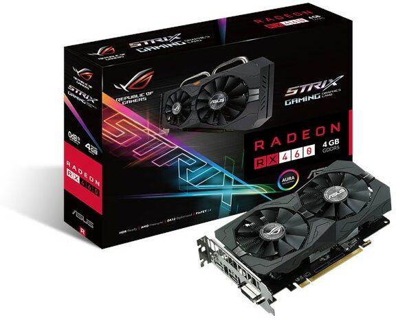 ASUS ROG Strix Radeon RX 460 4GB OC