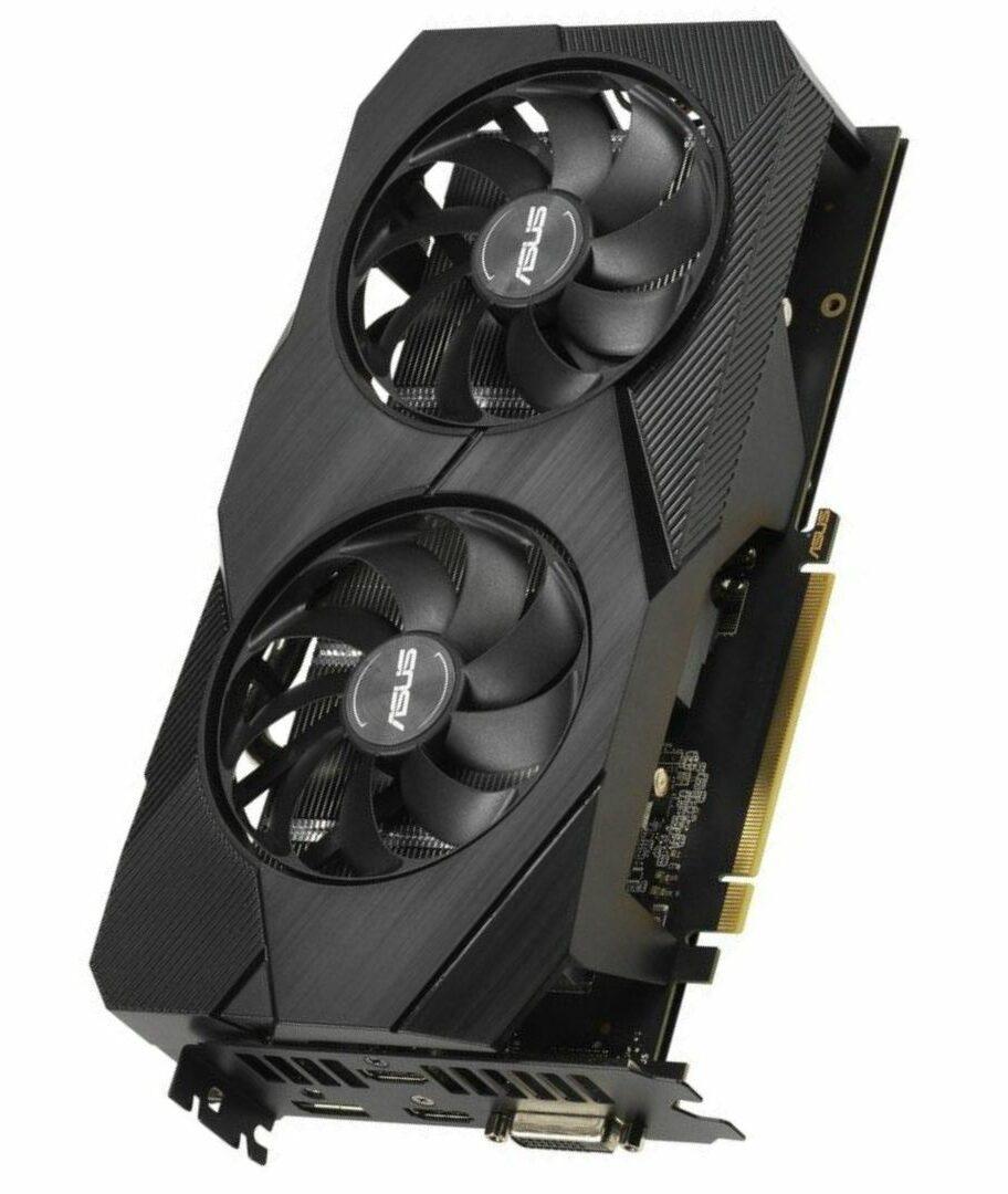 ASUS Dual GeForce RTX 2060 O6G Evo