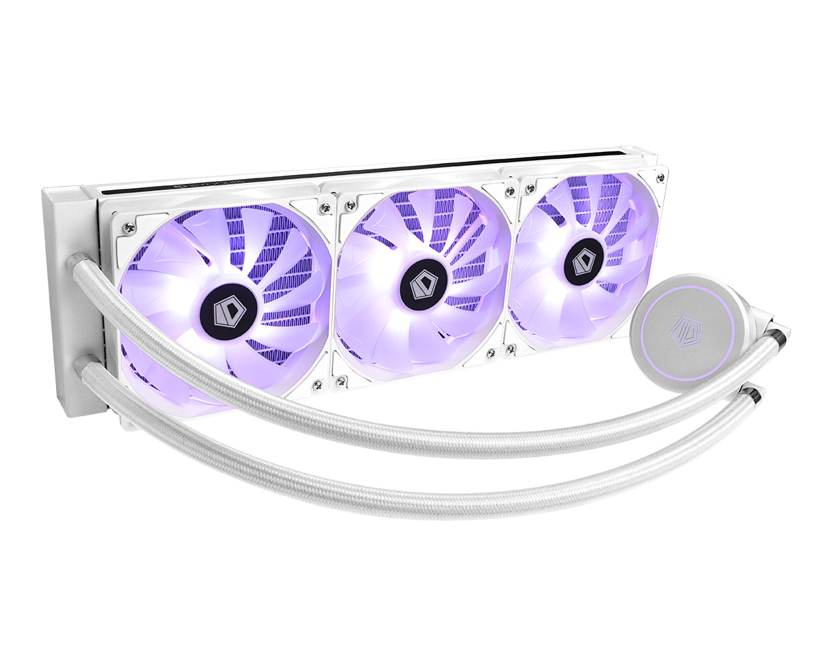 ID-COOLING AURAFLOW X 360 Snow
