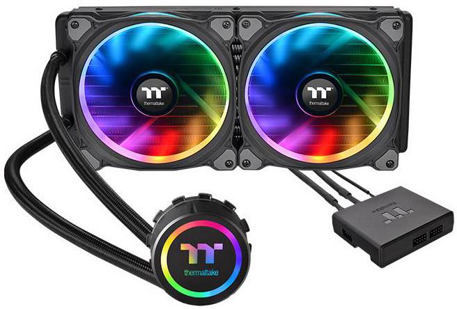 Thermaltake Floe Dual Riing RGB 280 TT Premium Edition