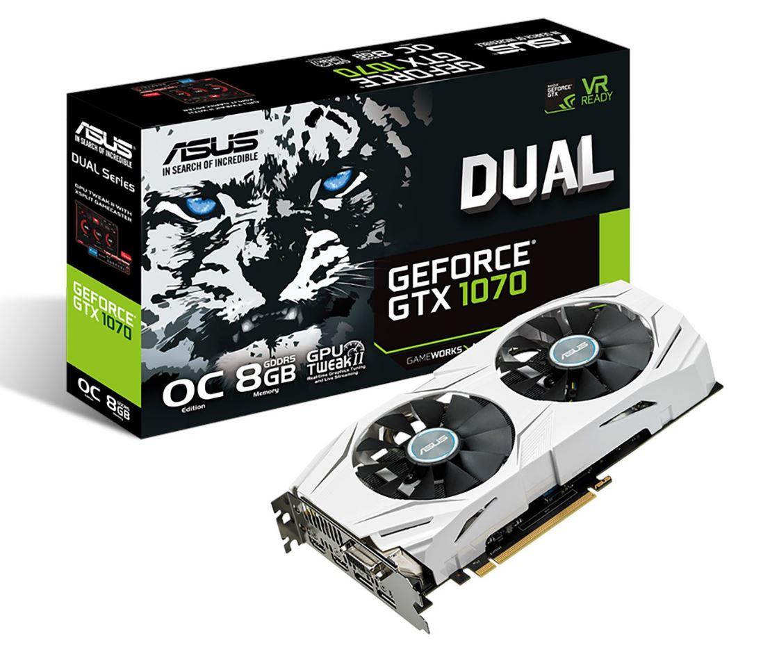 ASUS GeForce GTX 1070 White