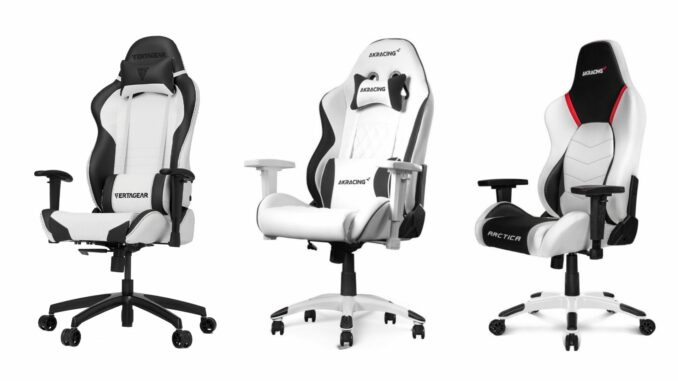 Best white gaming chairs