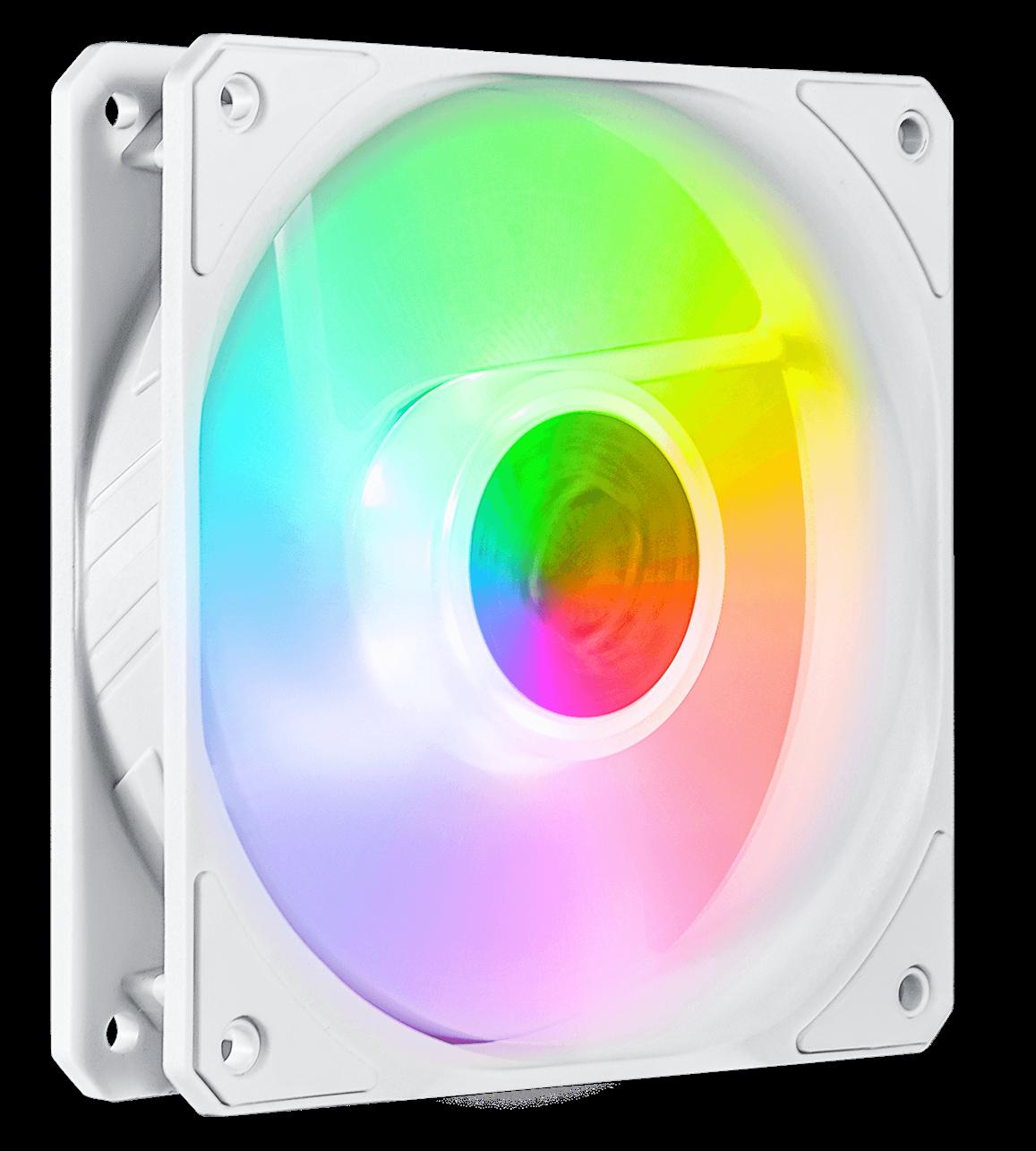 Cooler Master SickleFlow 120 V2 ARGB White Edition