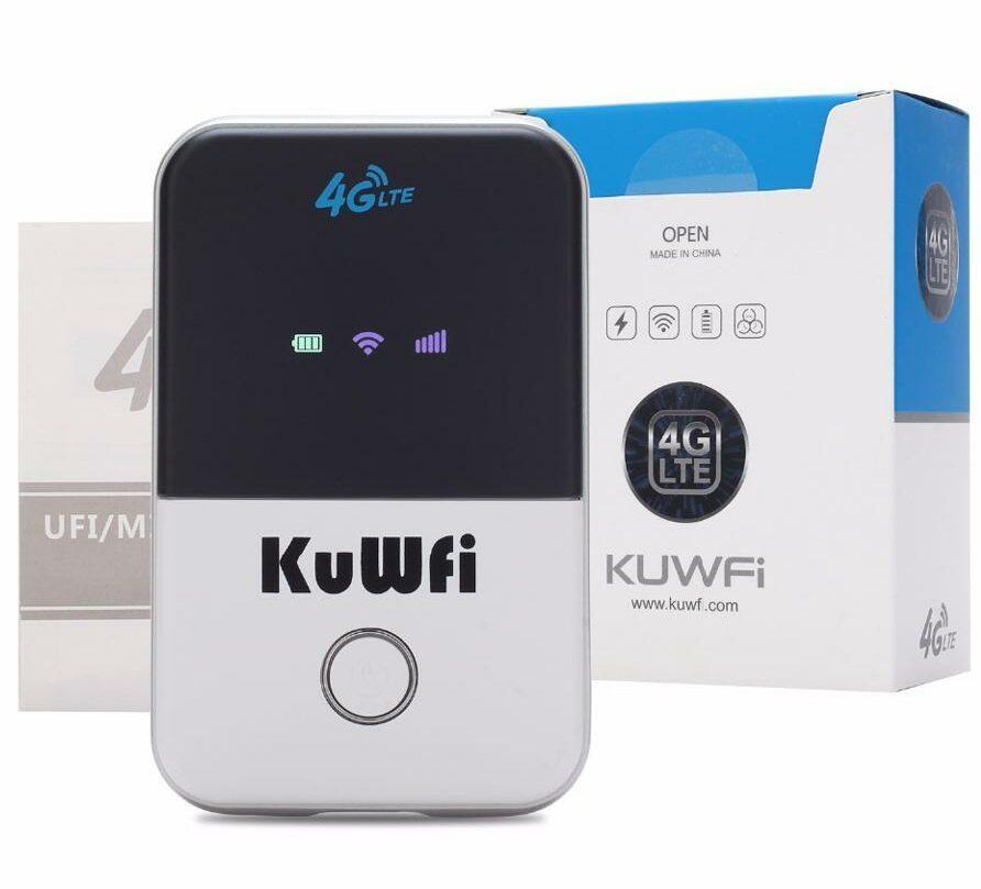 KuWFi 4G LTE Mobile WiFi Hotspot Unlocked