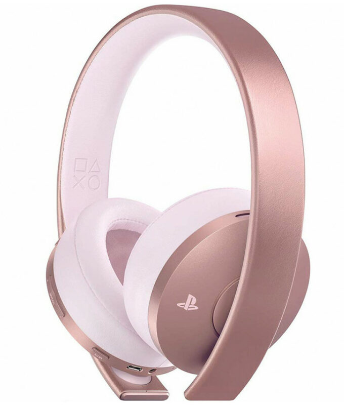 PlayStation Gold Wireless Headset Rose Gold X