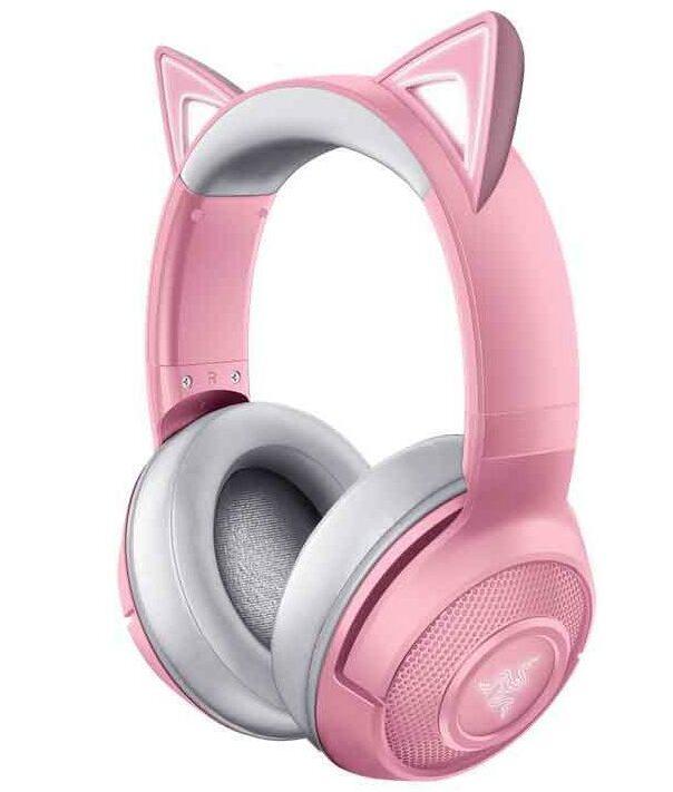 Razer Kraken BT Kitty Edition Quartz Pink